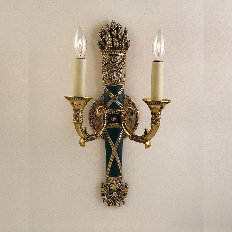 Image of: decorative wall candle sconces