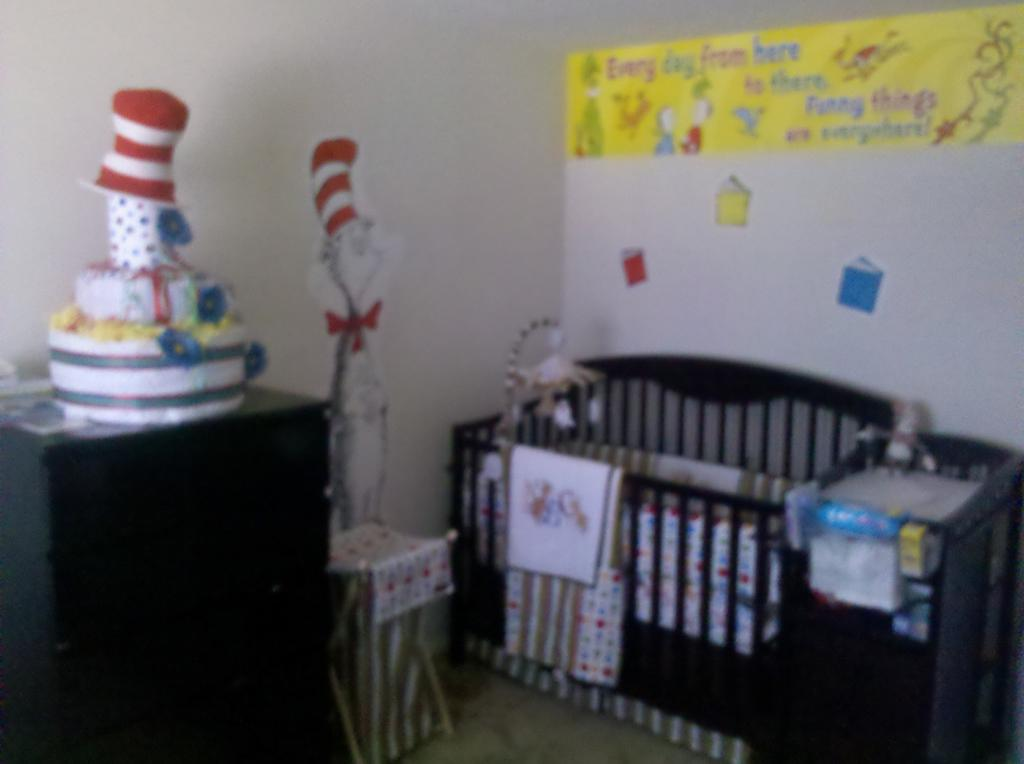 Image of: dr seuss nursery decor
