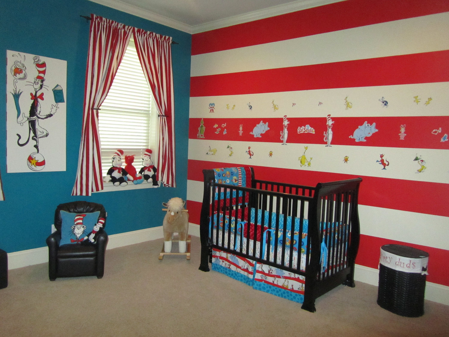 dr seuss room decor