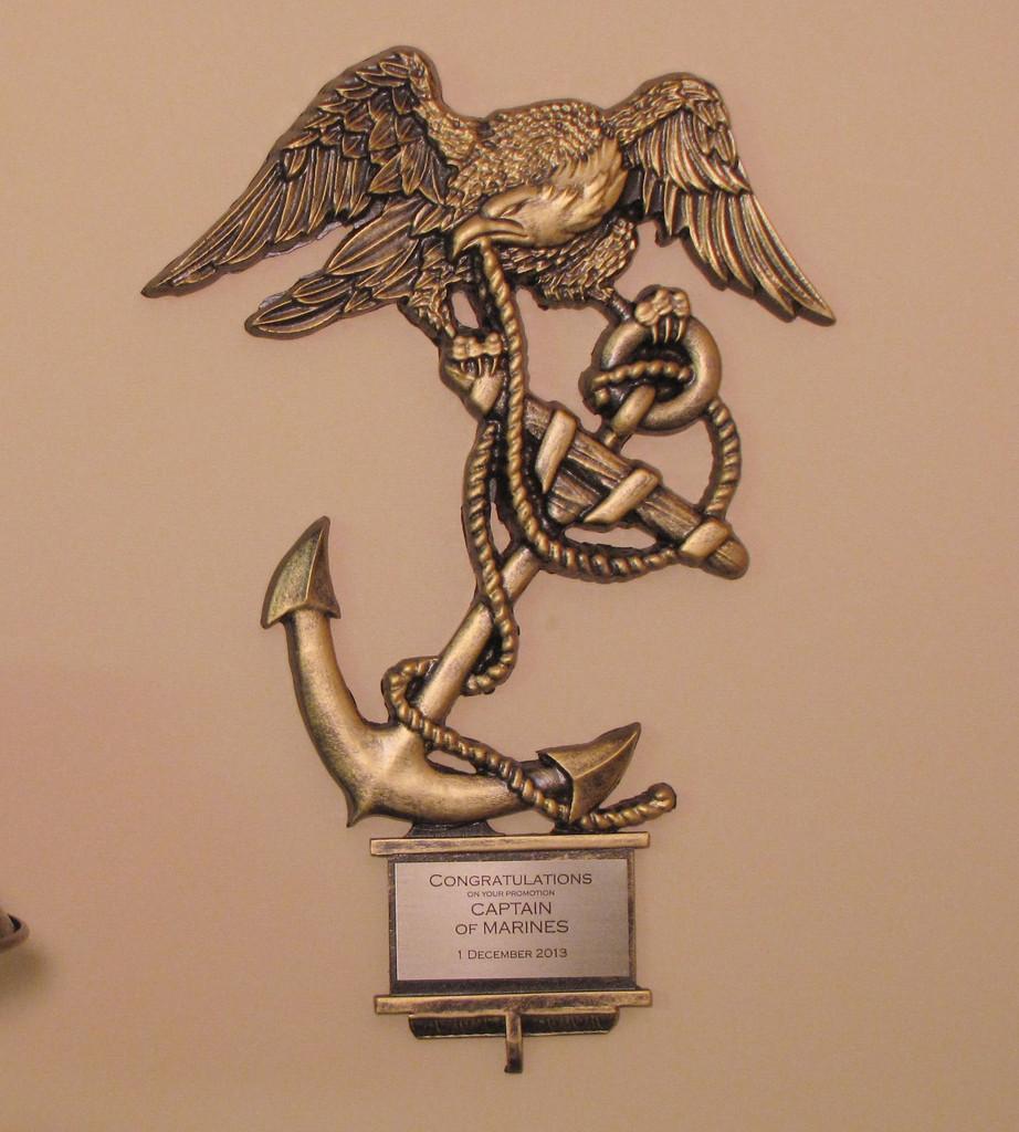 eagle globe and anchor wall decor