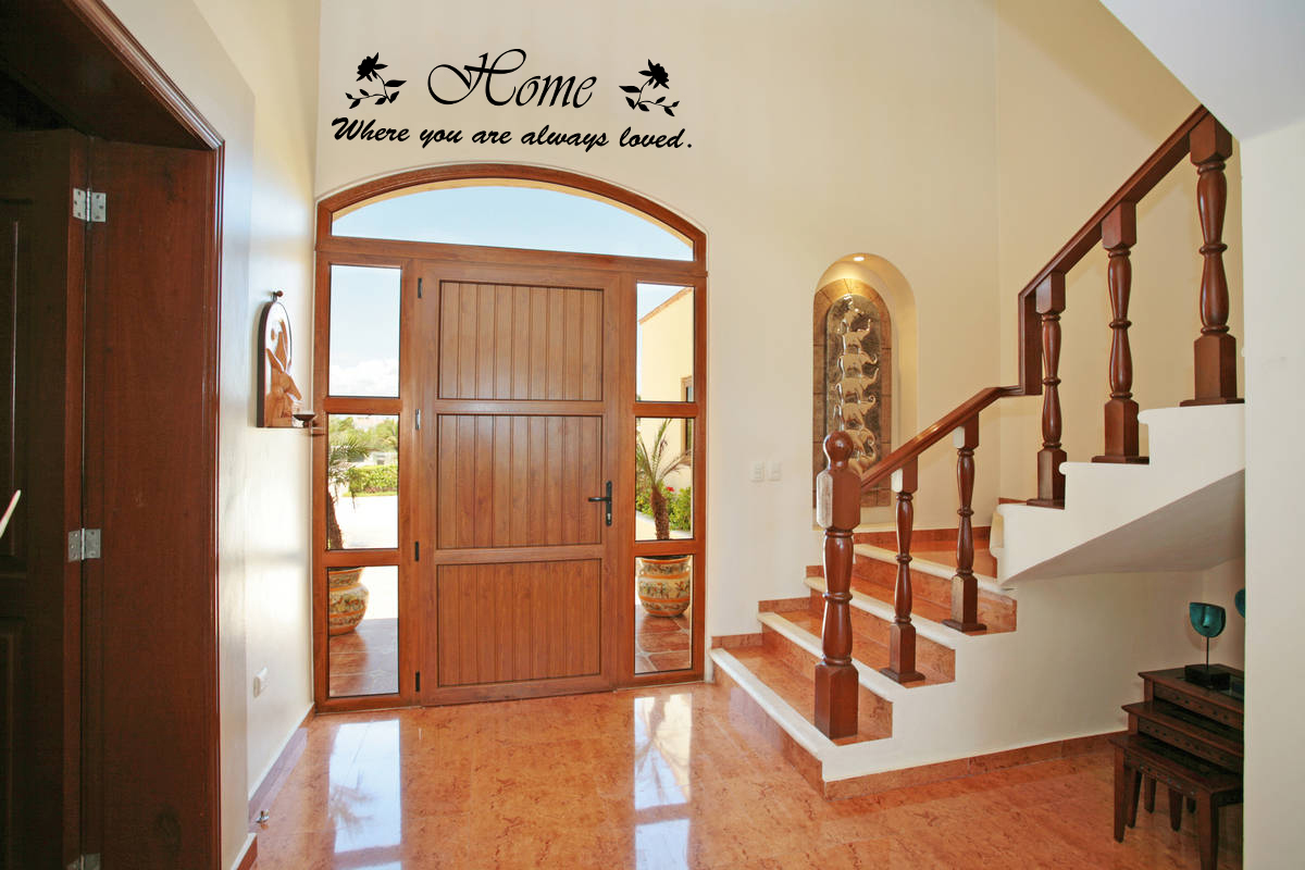 Image of: entryway wall decor