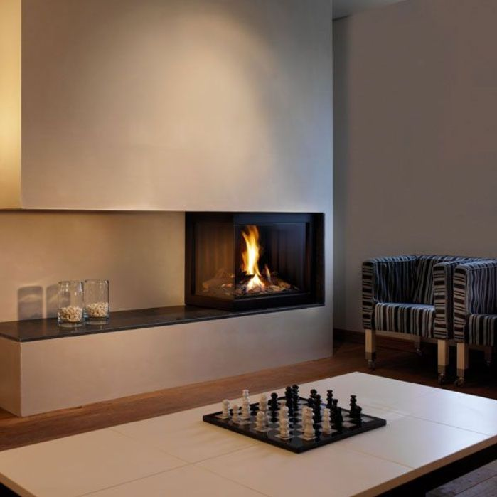 Image of: fireplace design ideas contemporary