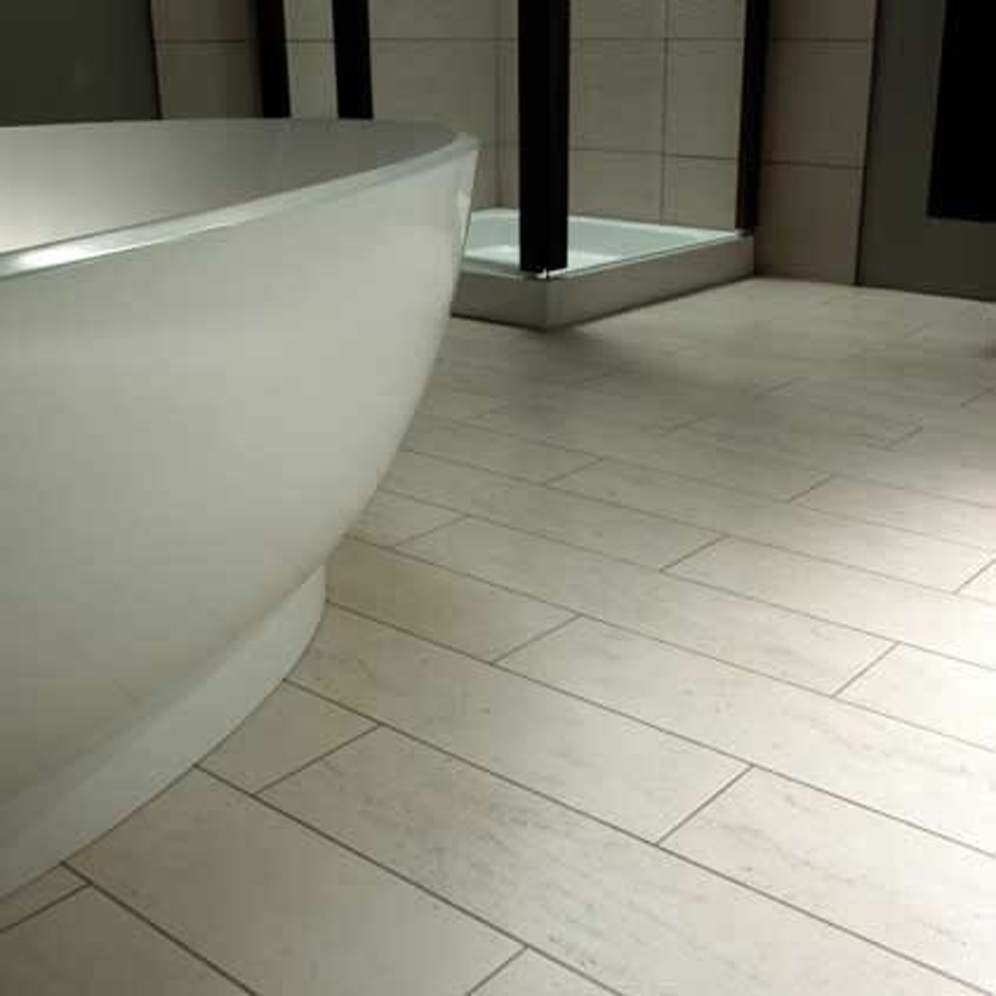 Image of: floor tile designs for a small bathroom
