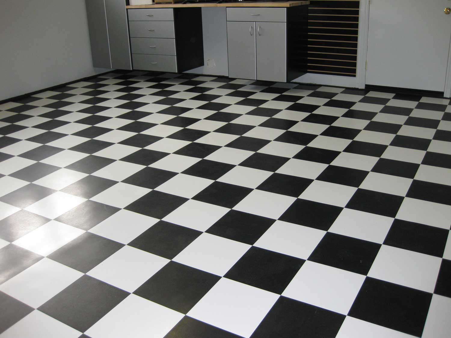 Image of: floor tile patterns black and white