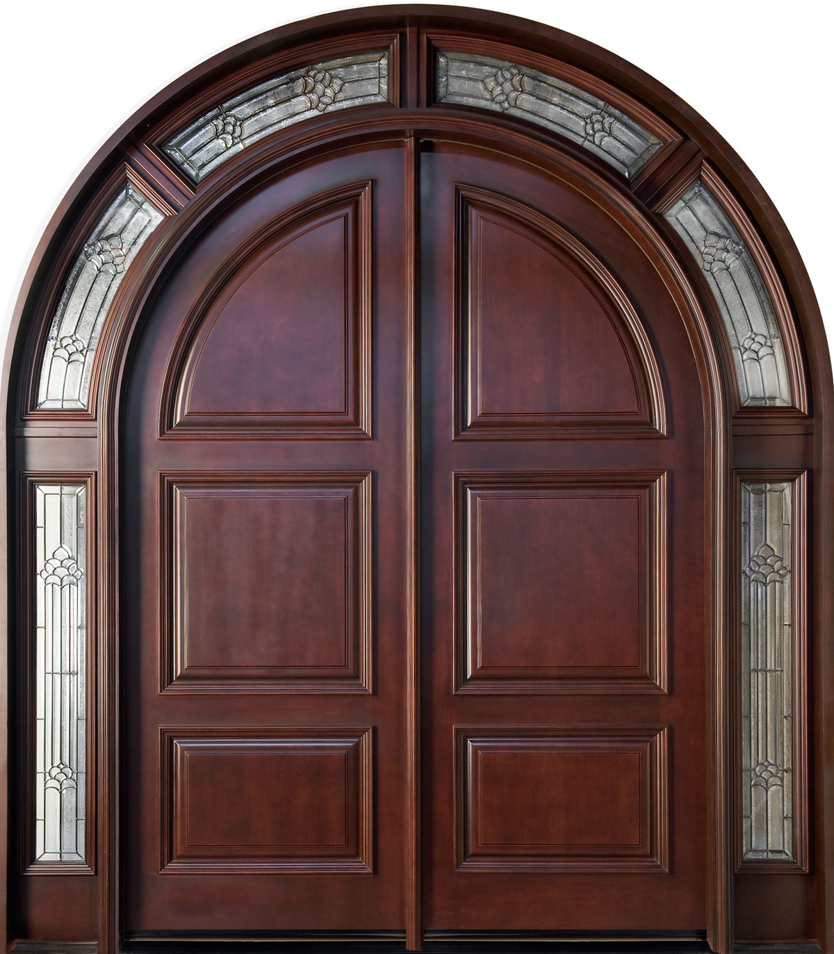 Image of: front door arch designs