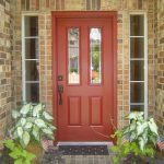 front door ideas for brick homes