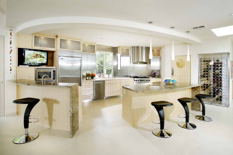 Image of: fun kitchen decorating themes home
