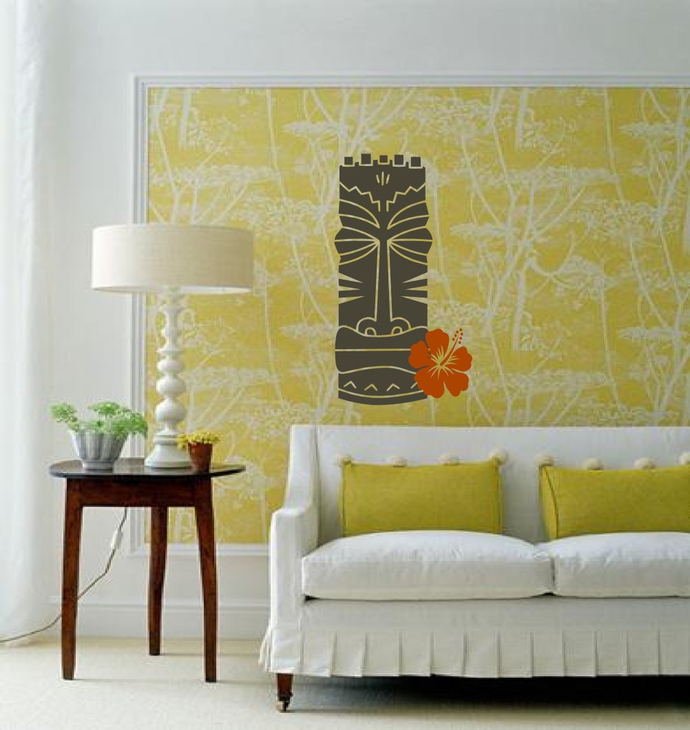 Image of: hawaiian wall decor