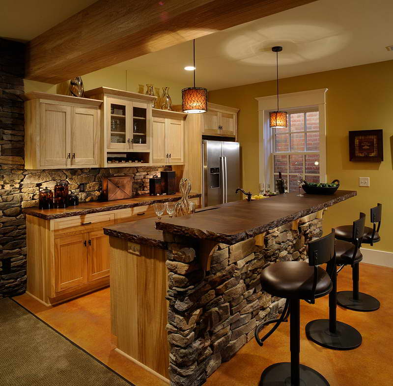 Image of: home wet bar designs