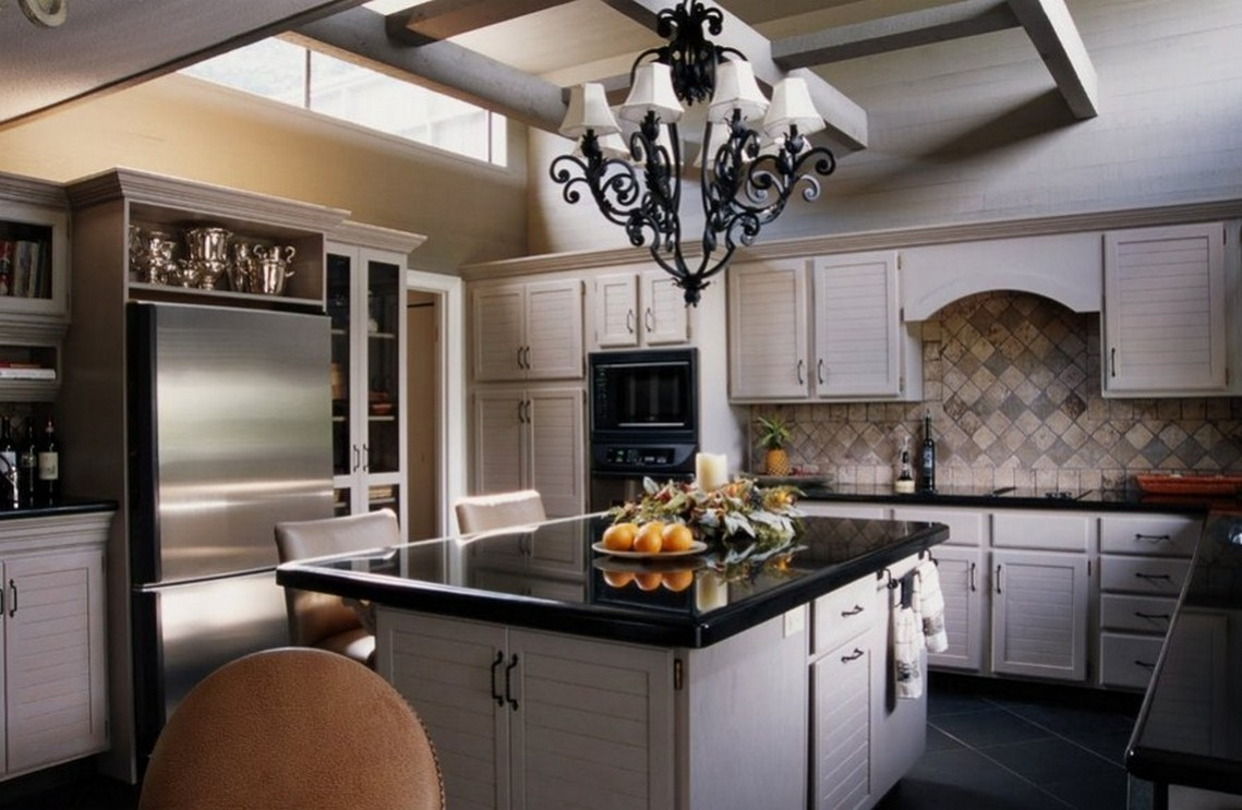 Image of: italian bistro kitchen decor
