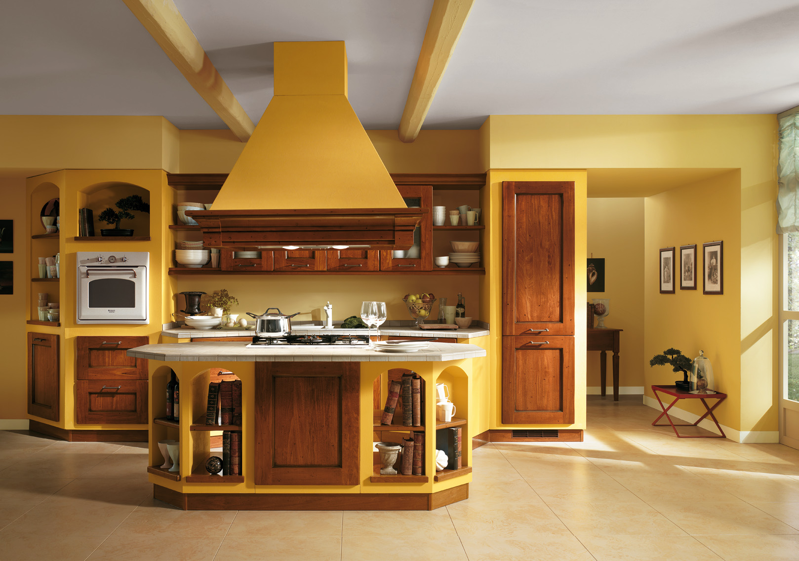 Image of: italian kitchen decor