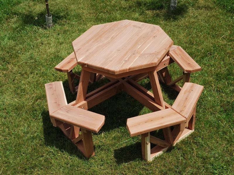 Image of: kids picnic table plans