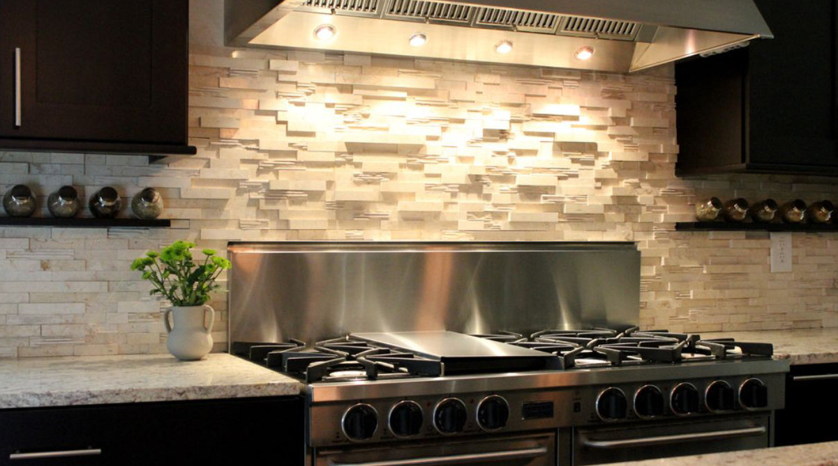 Image of: kitchen backsplash diy