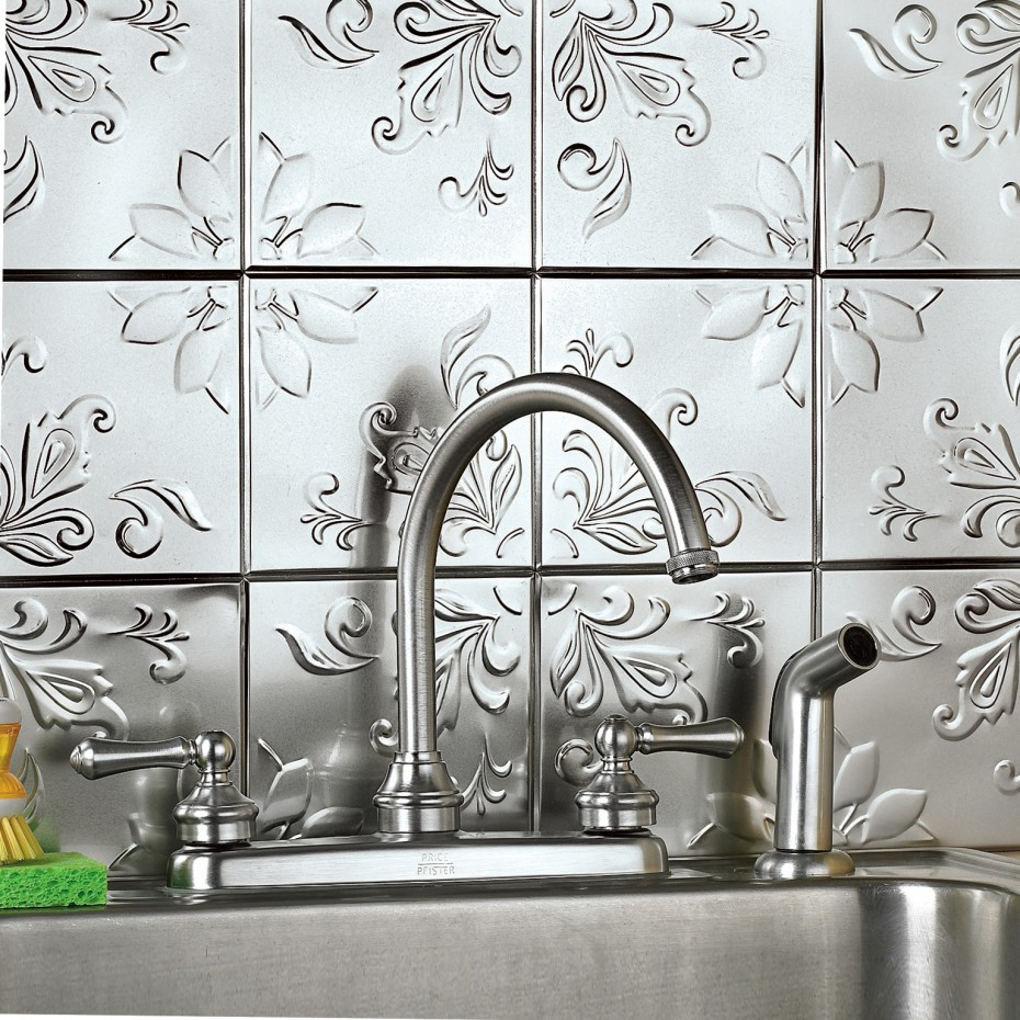 Image of: kitchen backsplash peel and stick
