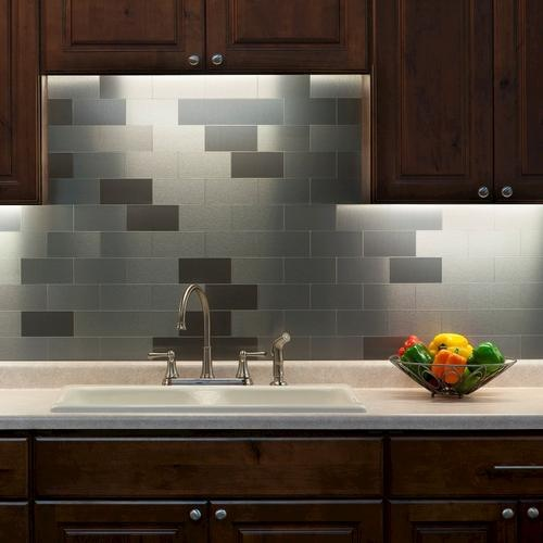 Image of: kitchen backsplash tiles peel and stick