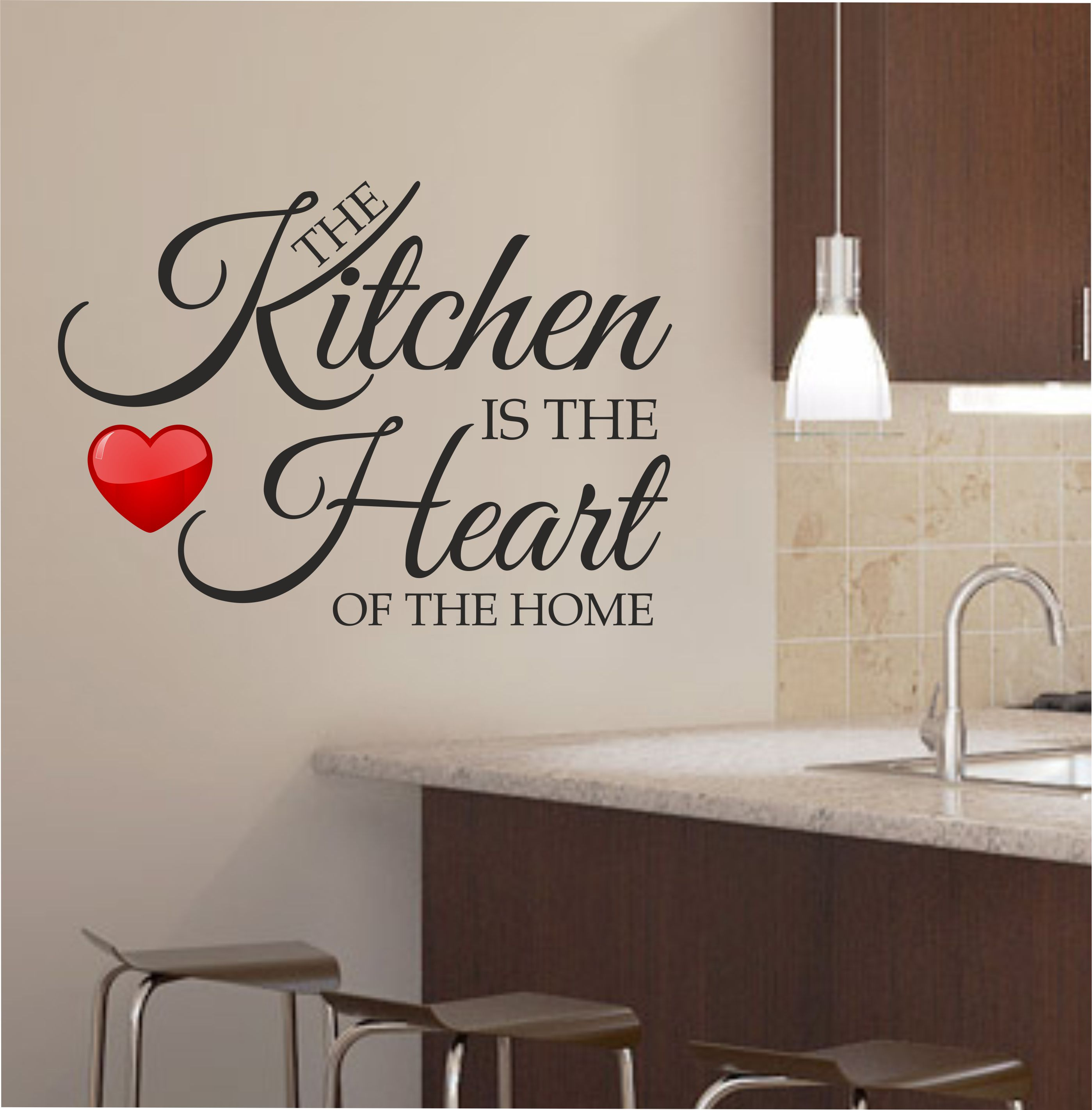 Image of: kitchen wall decor