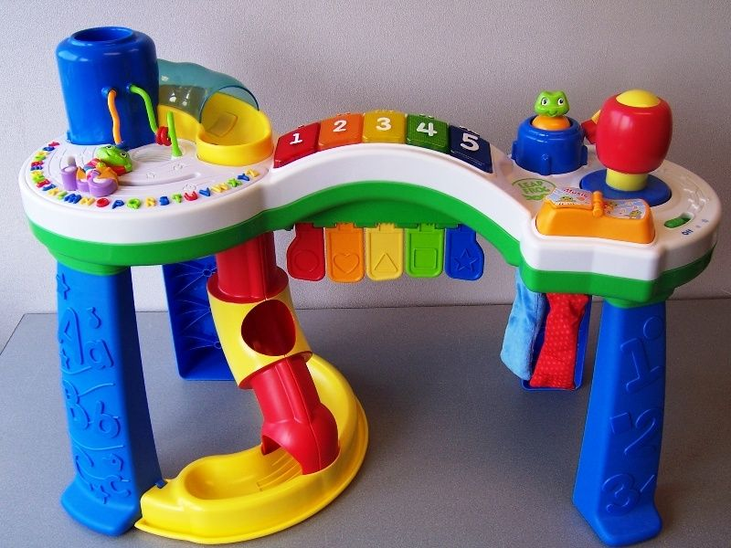 Image of: leapfrog activity table