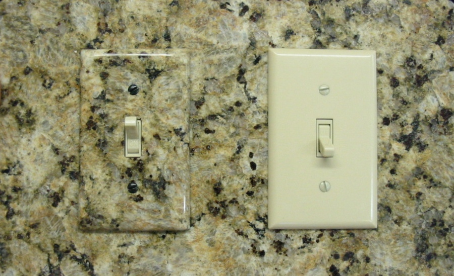 Image of: light switch plate covers decorative