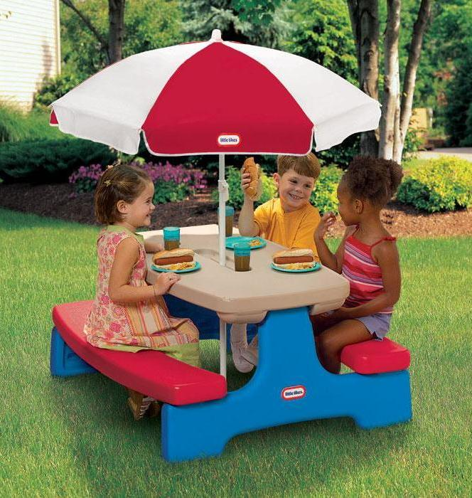 Image of: little tikes classic table and chairs set