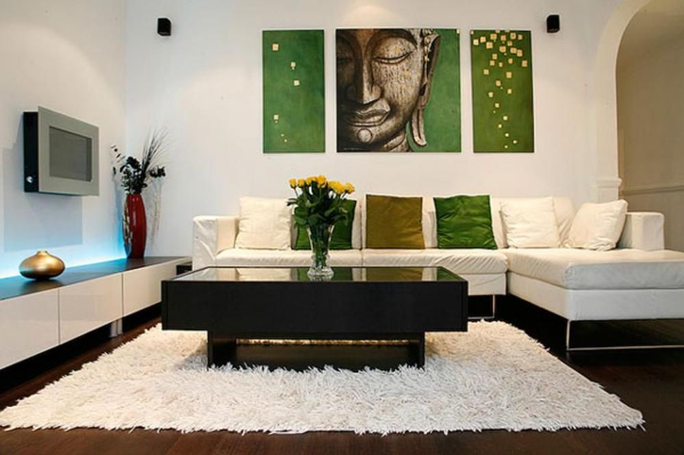 Image of: living room wall decor