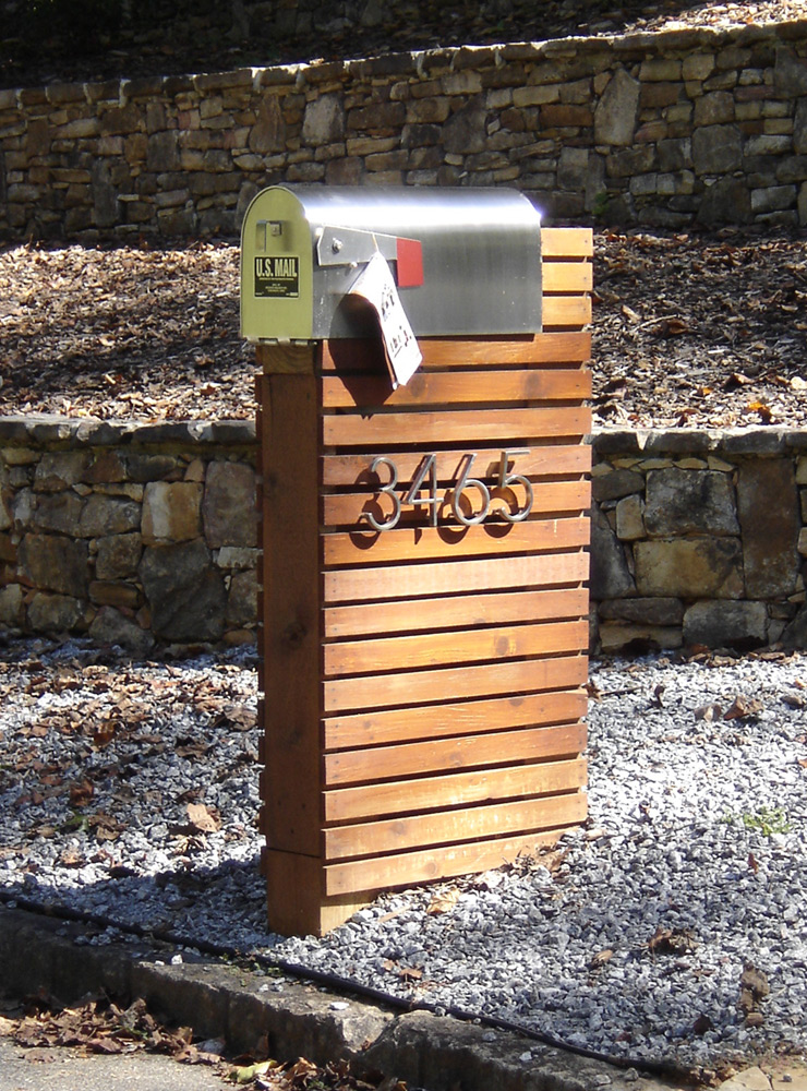 Image of: mailbox design