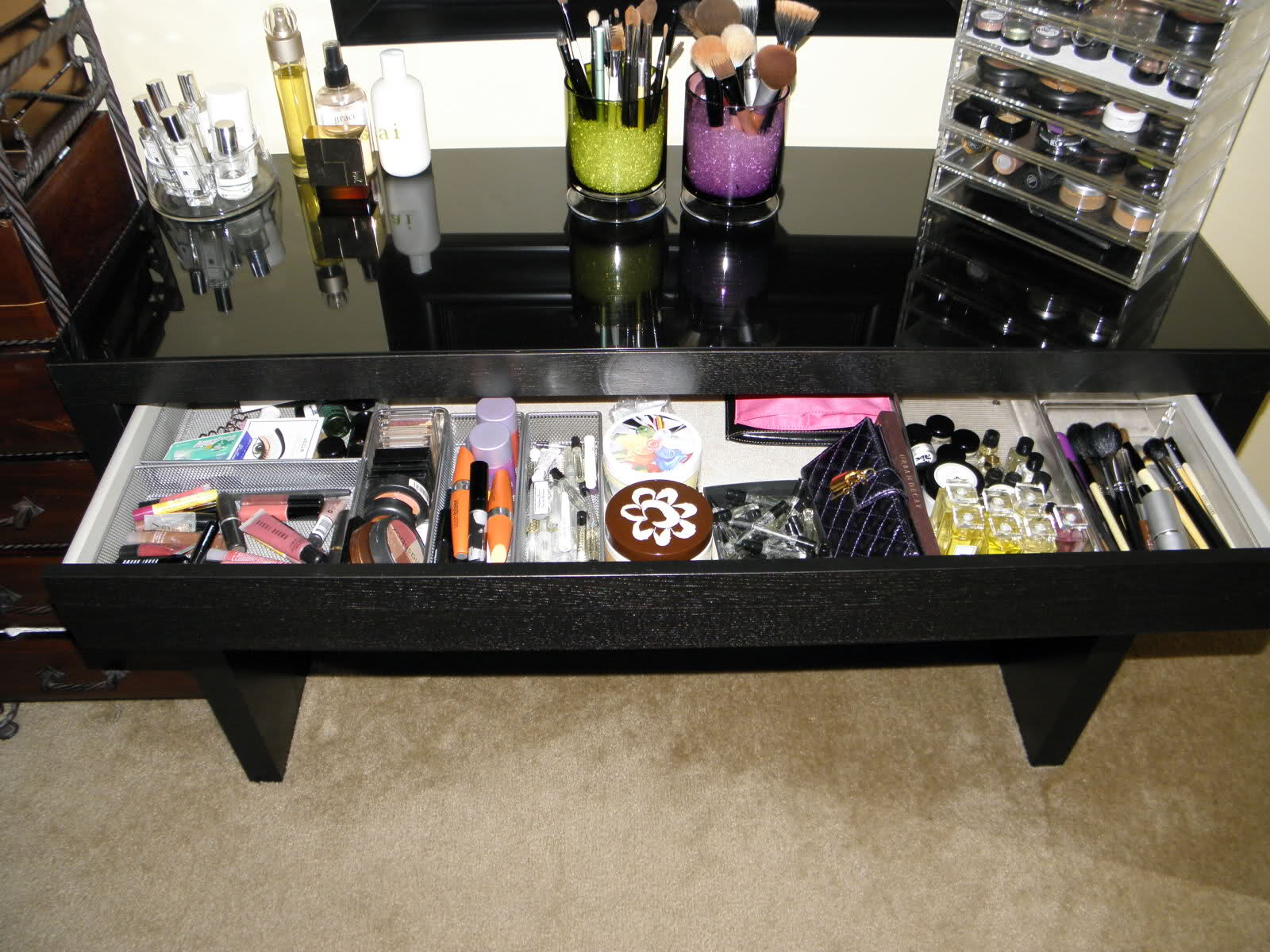 Image of: malm dressing table assembly
