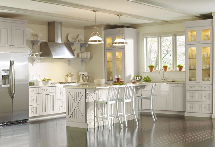 Image of: martha stewart kitchen at home depot