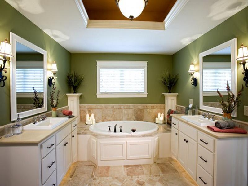 Image of: master bathroom layouts and designs