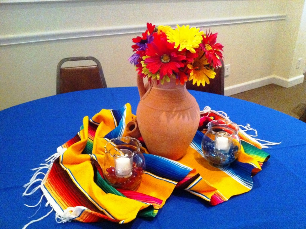 Image of: mexican party decoration ideas