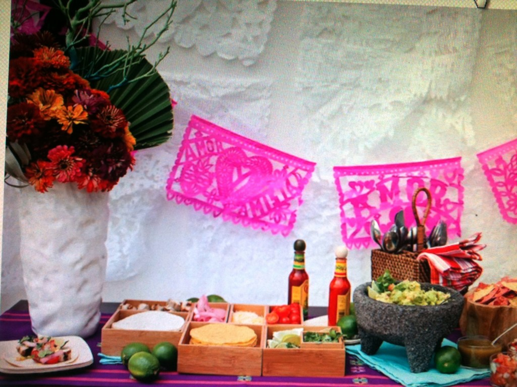 Image of: mexican party decoration