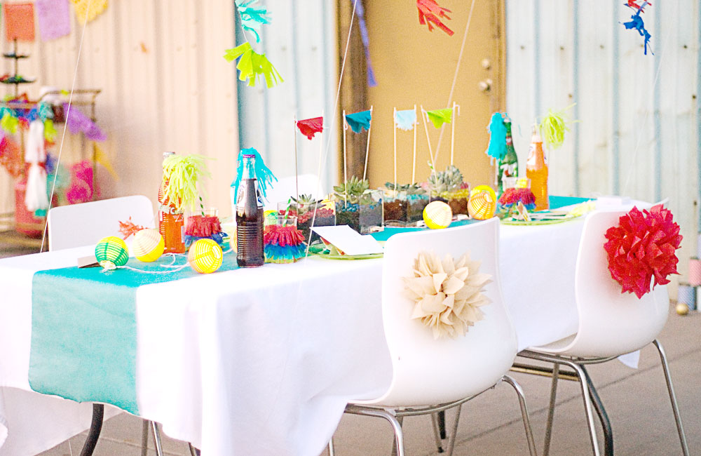 Image of: mexican party decorations ideas