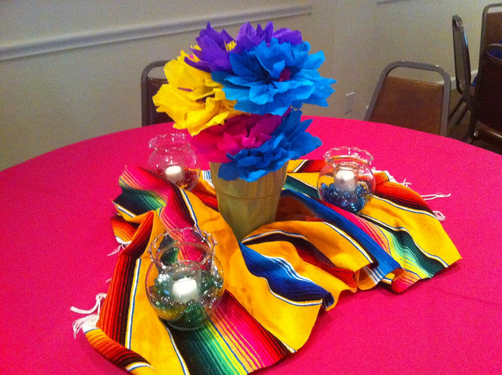 Image of: mexican party theme decorations