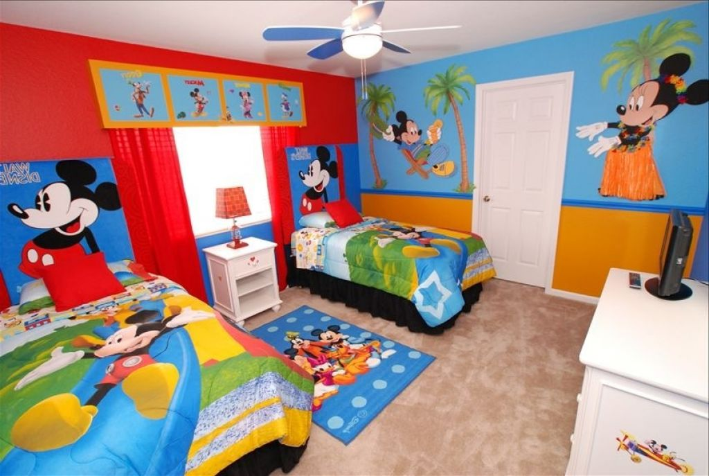 Image of: mickey mouse clubhouse room decor