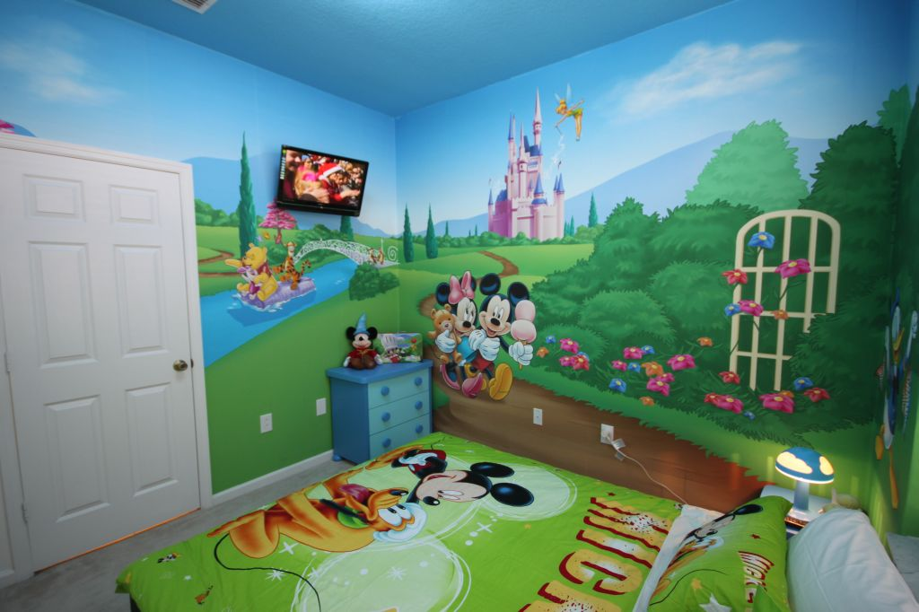 Image of: mickey mouse clubhouse room decorations