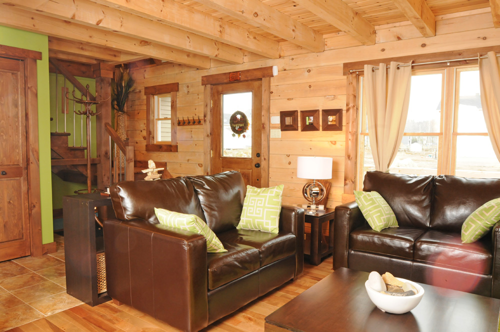 Image of: mountain lodge decor