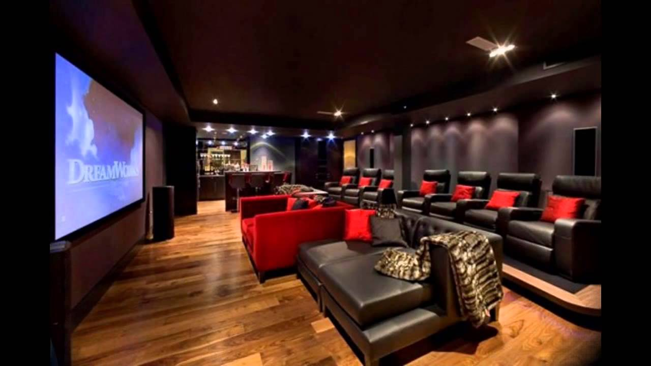 Image of: movie room decor