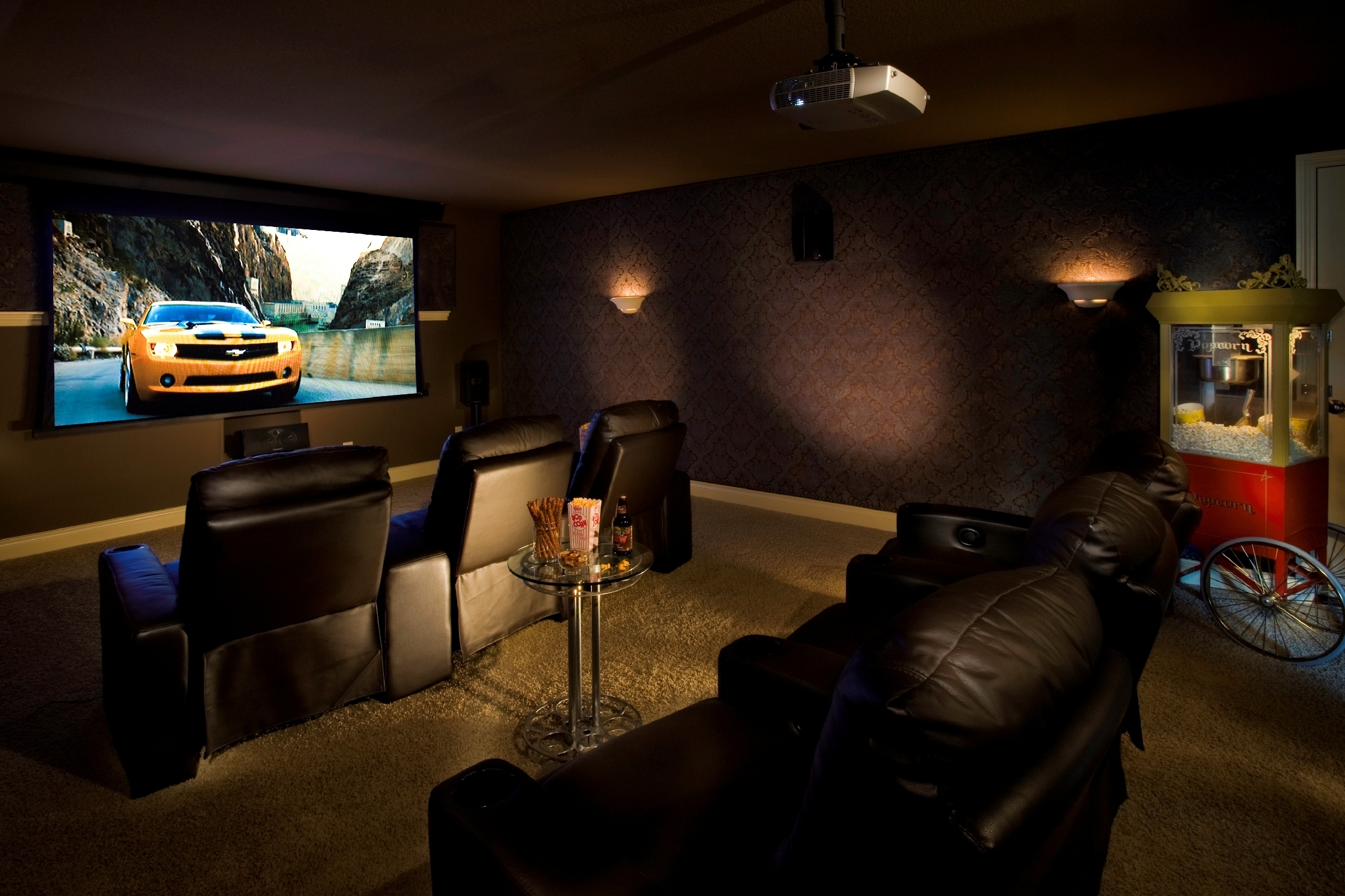 Image of: movie theater room decor uk