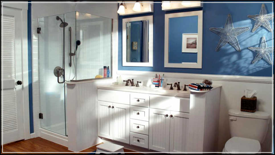 Image of: nautical bathroom decor
