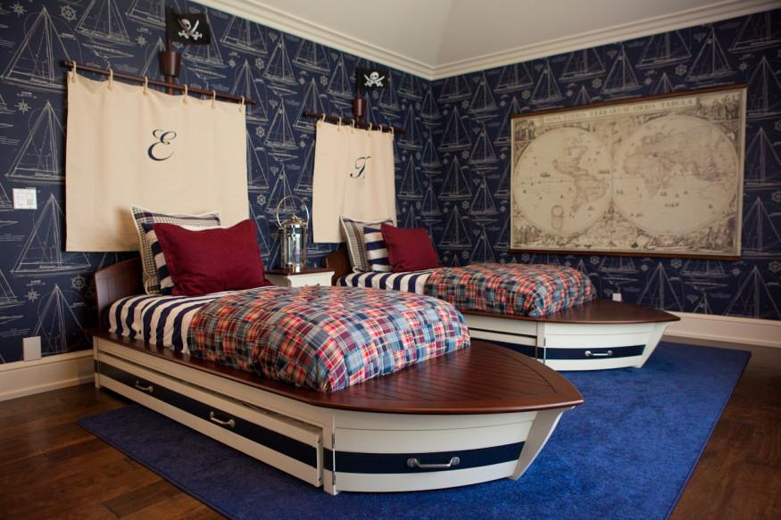 Image of: nautical bedroom decor