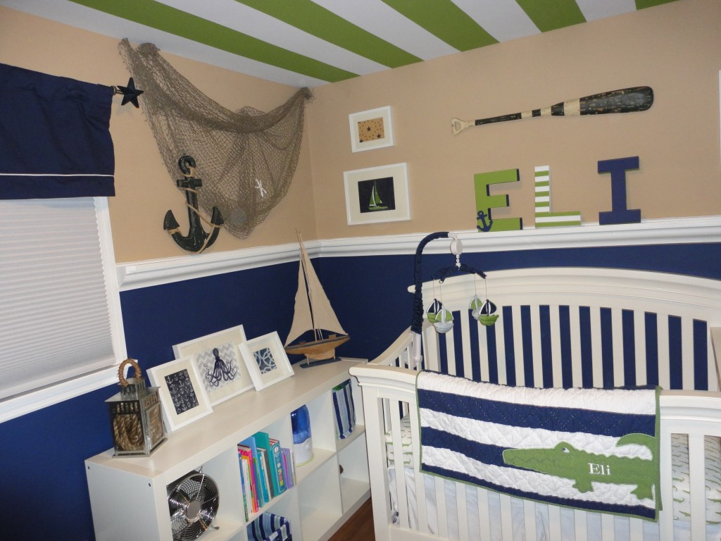 Image of: nautical nursery decor