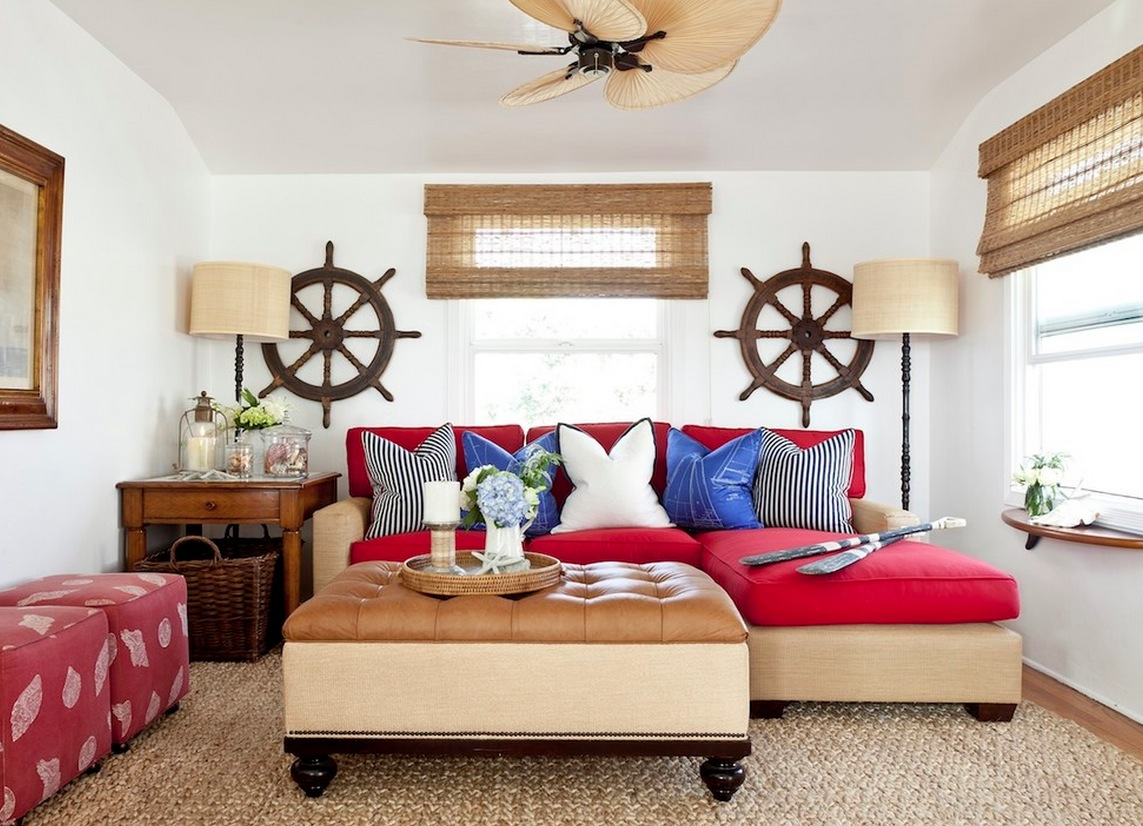 Image of: nautical theme decor