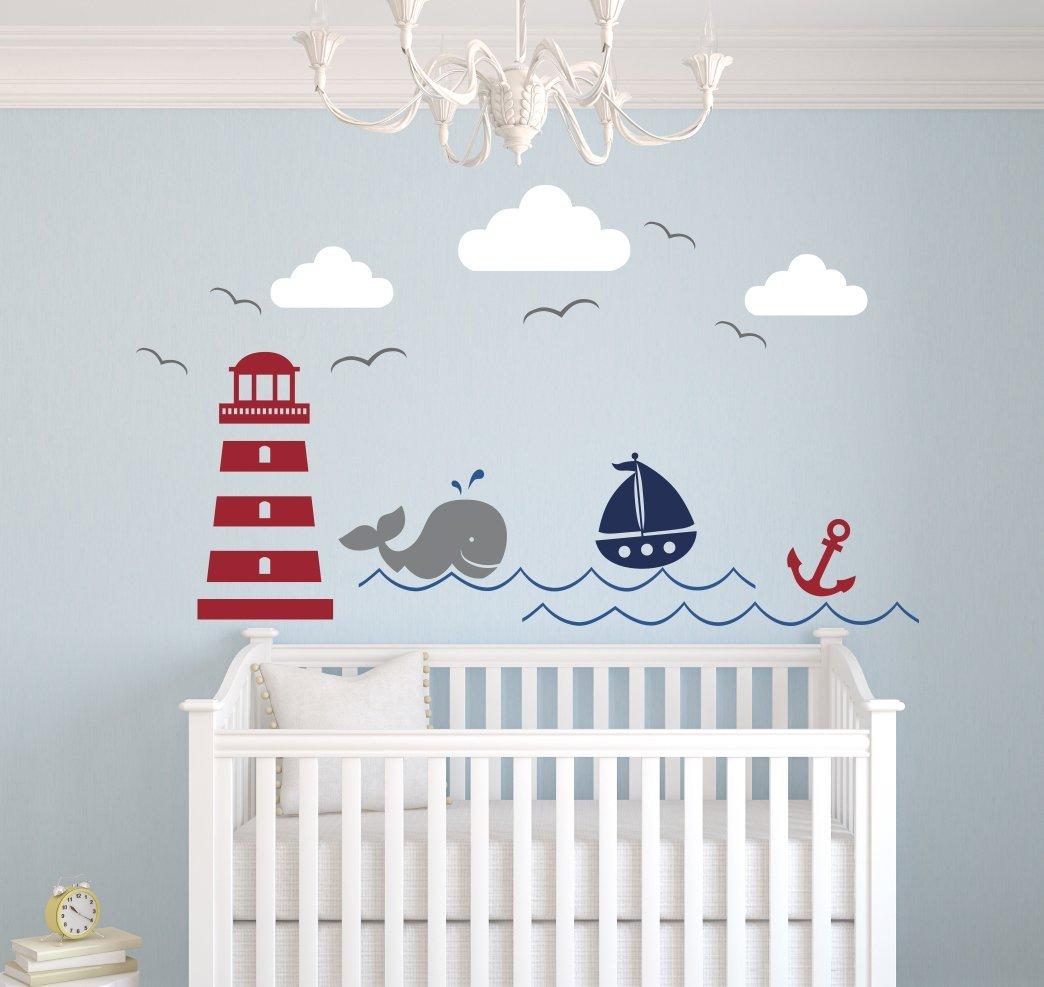 Image of: nautical wall decor