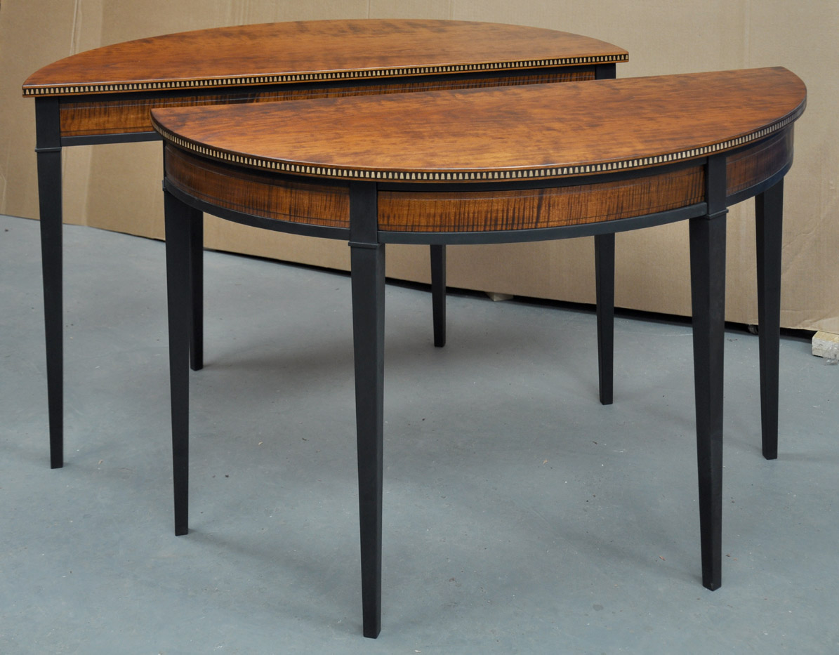 Image of: nilo half table