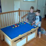 nilo train lego table