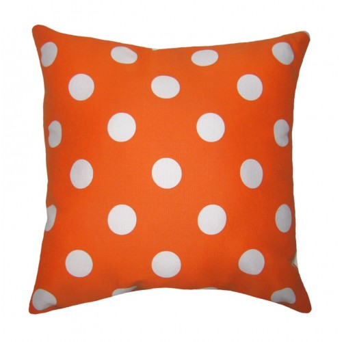 Image of: orange throw pillows ebay