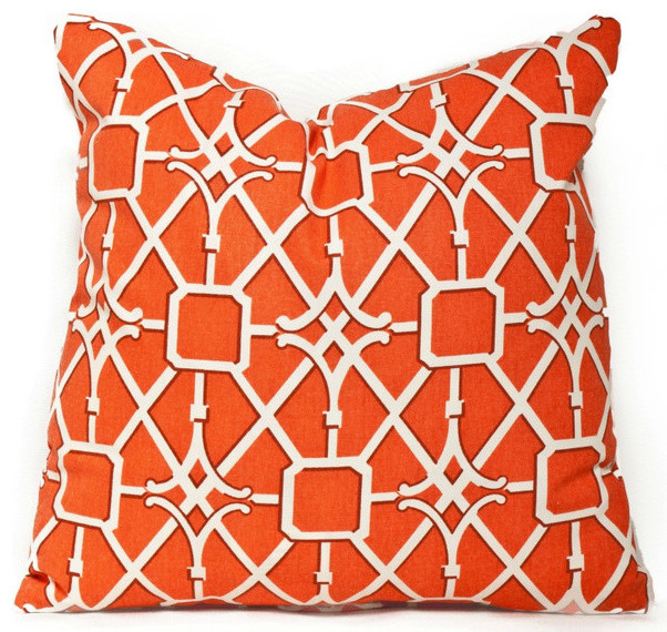 Image of: orange throw pillows ikea
