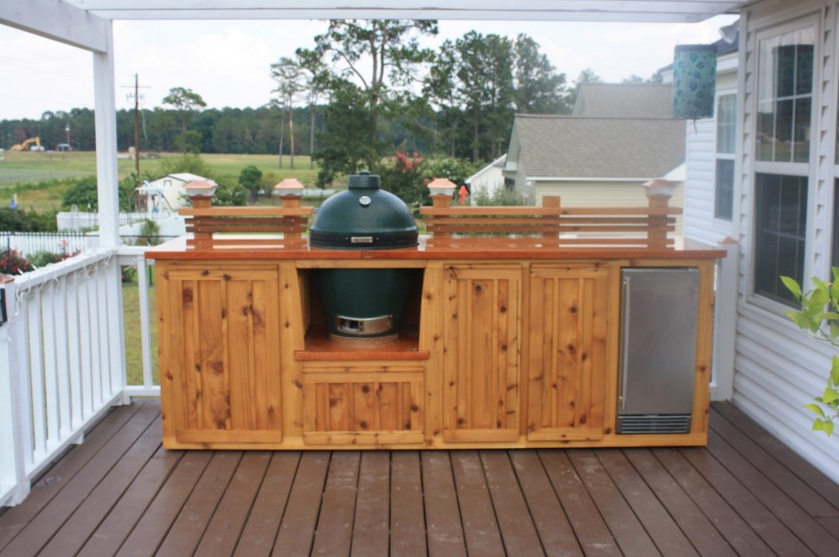 Image of: outdoor kitchen plans wood