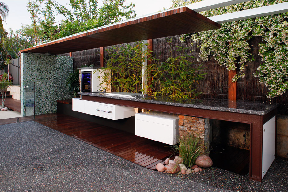 Image of: outdoor kitchens designs australia