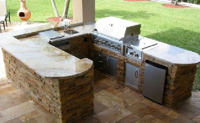 outdoor kitchens plans diy