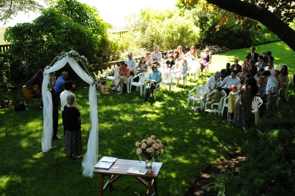 Image of: outdoor wedding decorations diy